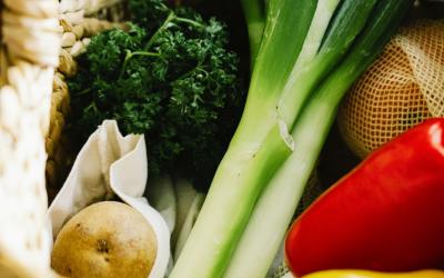 Eet lokaal en van het seizoen voor meer voedingsstoffen